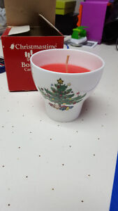 Super cute xmas candle- not used Peterborough Peterborough Area image 1