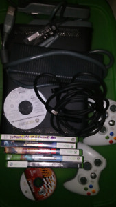 Xbox 360 system and games