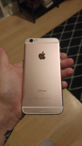 *200 obo* iphone 6s - Rose Gold 16GB NEEDS SCREEN REPLACEMENT!