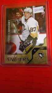 Carte de hockey  sidney crosby ss1 upper deck 1516 super snipers
