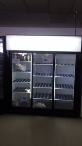 Coolers,Shelving, Coffee Equipment