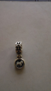 Genuine Pandora Charm Bead Cameo Taurus - retired