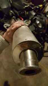 "250 dirtbike hindle muffler/exhaust pipe 2.25"""