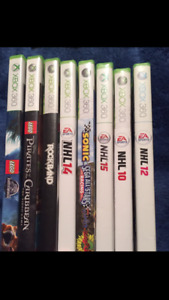 Xbox video games great condition