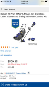 Kobalt Battery   Kijiji in Ontario  - Buy, Sell & Save with Canada's