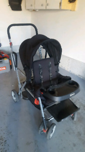 Sit and and joovy stroller