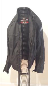 Motorcycle men's jacket, AdrenalineX, black