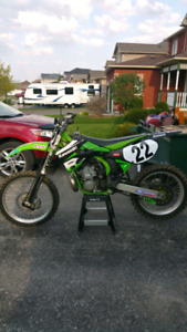 Kx250 with ownership for dual sport