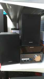 Sony home audio system CMT SBT40
