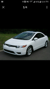2008 Honda Civic  Coupe Automatic