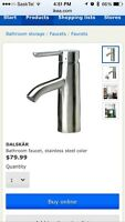 IKEA Dalskär stainless steel faucet