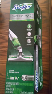New Swiffer SweeperVac Rechargeable Cordless Vacuum Starter Kit