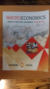 Macroeconomics 9th ed By Parkin and Bade