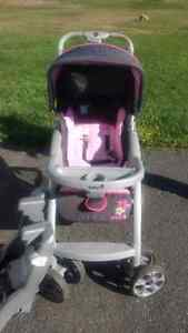 Car seat/stroller and base for sale