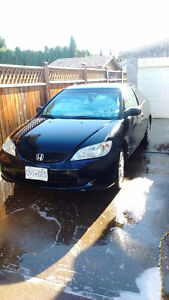 2005 Honda Civic Coupe (2 door) Very low kms