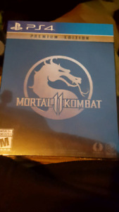 Mortal Kombat 11 Premium Edition Steelbook PS4