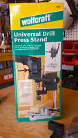 Wolfcraft Universal Drill Press Stand including Hammer Drill kit