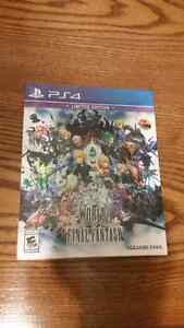 PS4 World of Final Fantasy Limited Edition Sealed