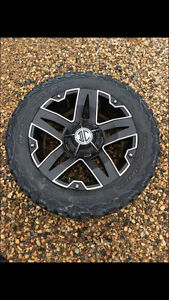 20 inch rims off of a 2014 GMC
