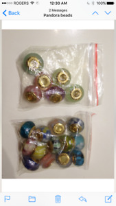 Beads for Pandora bracelets or other - Different Colors