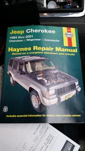Haynes jeep repair manual