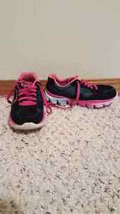 Kids sketchers running shoes size 13