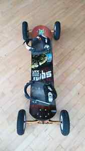 MBS mountainboard dirtboard ALMOST NEW w/ brake system