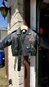 Babys Harley Davidson Leather Jacket