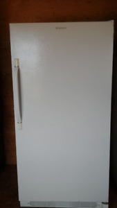 Frigidaire Upright Freezer, 17 cubic foot.