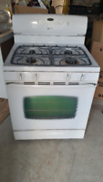 White Maytag Gas stove for sale - in good condition