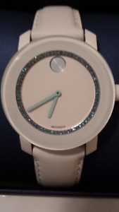 Ladies Unique  Movado Watch