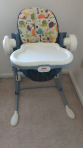 Fisher Price highchair to swing