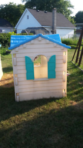 Outdoor plastic house
