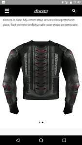 Icon Styker Rig - Motorcycle Body Protector.