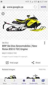 Looking for a MX etec  skidoo