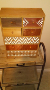 Curio Cabinet, made of wood