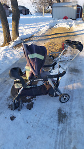 Sit-N-Stand Double Stroller