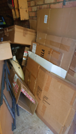 Cardboard boxes for house movers!