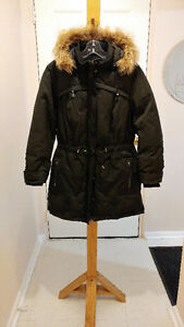 **REDUCED AGAIN!!** REITMANS black long winter jacket sz.1X $70