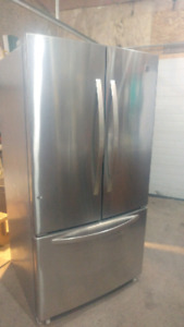 Stainless Steel Kenmore Fridge