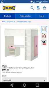 SINGLE LOFT BED FOR SALE
