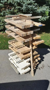 Large Lot of New Solid Wood Railing Posts & Spindles