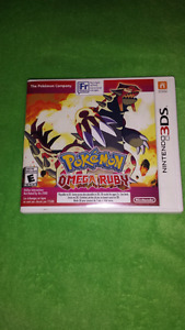 For sale, omega ruby 3ds game.