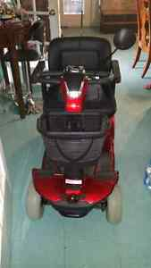 Celebrity scooter red perfect condition