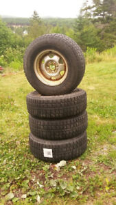 Four used Cooper Discoverer snow tires for sale in Saint John,NB