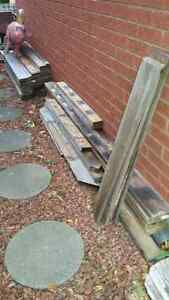 Reclaimed Fence Boards