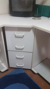 2 Unit Craft or Sewing Table