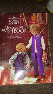 SEARS 1971 CHRISTMAS WISH BOOK