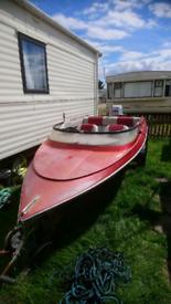 Simms super v speedboat