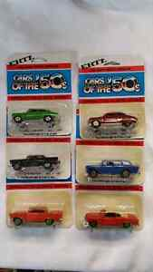 ERTL CARS OF THE 50S SET OF 6 CARS